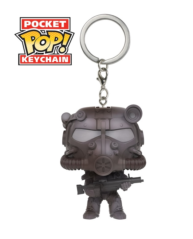 Fallout: T-60 Power Armor - Pop! Vinyl Key Chain