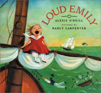Loud Emily by Nancy Carpenter image