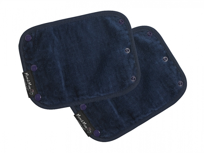 Mum 2 Mum Strap Cover Sucking Guard - Navy image