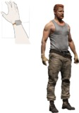 "The Walking Dead - 7"" Abraham Ford Action Figure"