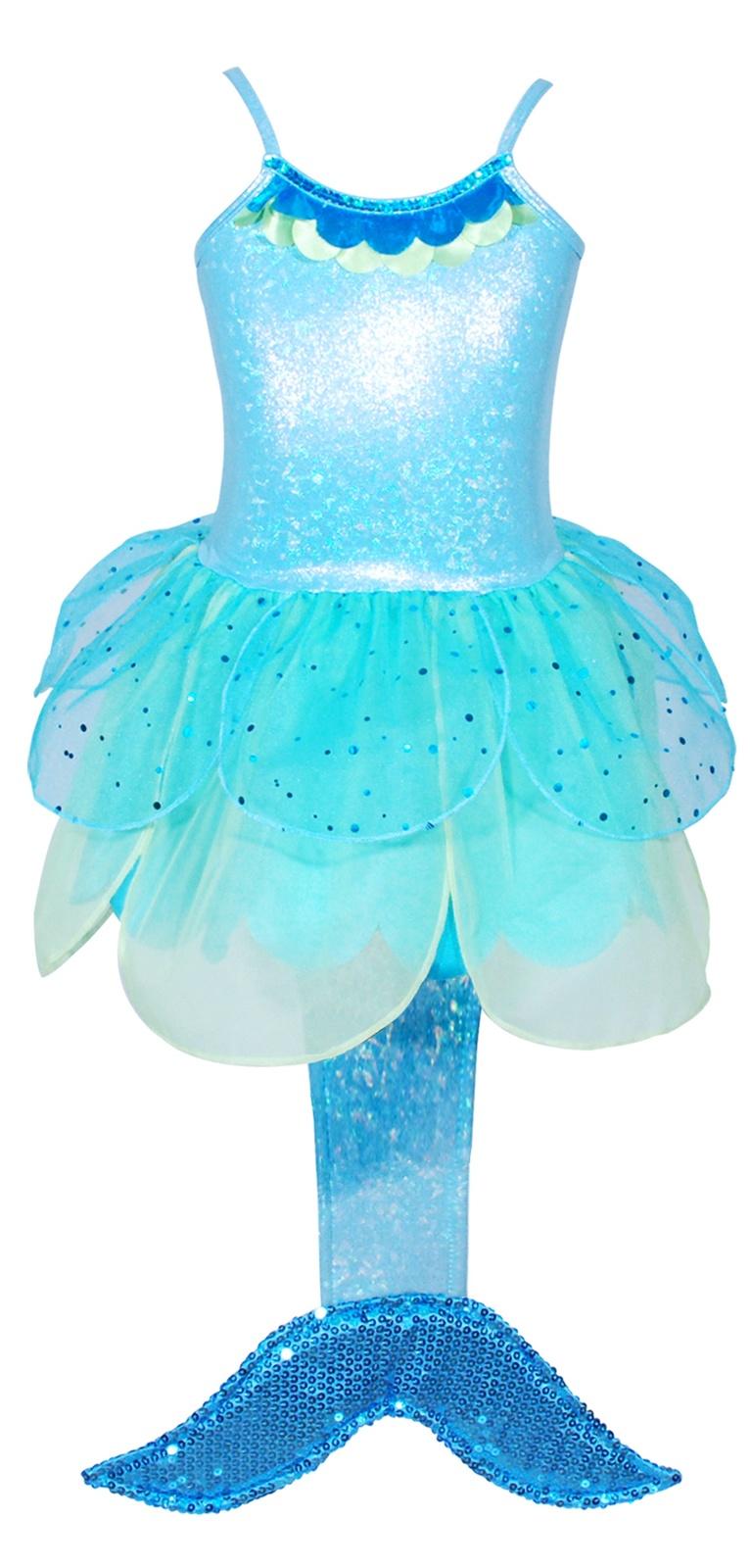 Pink Poppy: Summer Mermaid Dress (Size 56) Blue