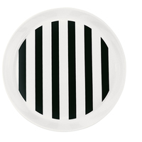 Miss Étoile - Black Stripe Plate