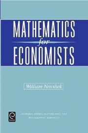 Mathematics for Economists image