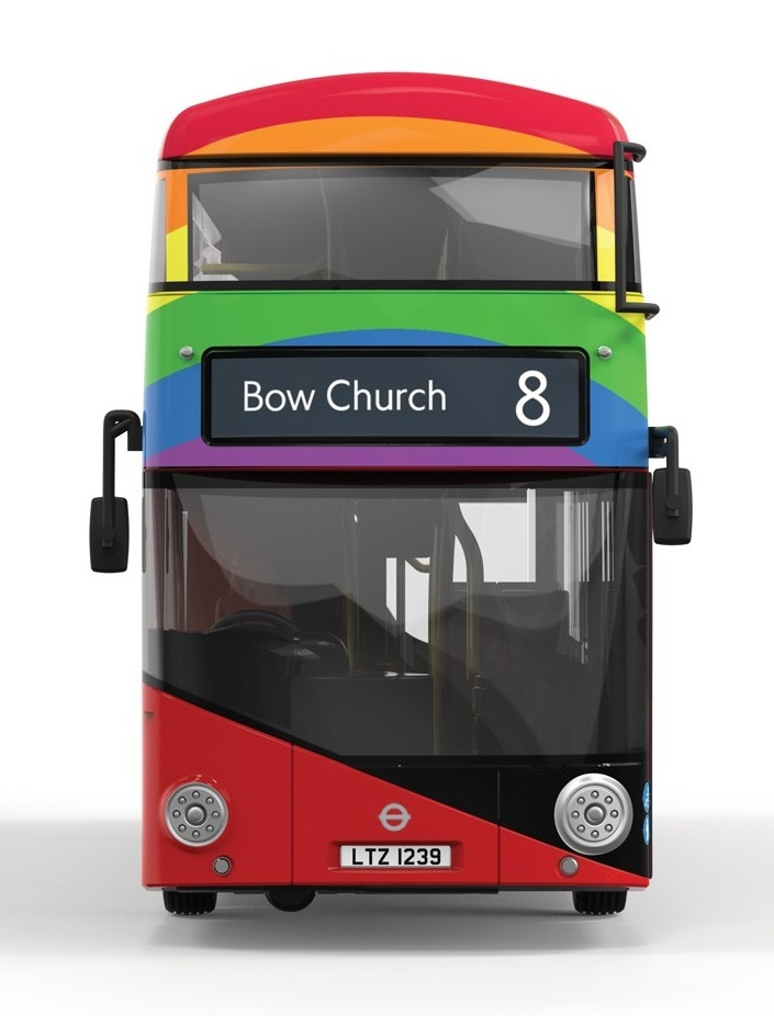 Corgi: 1/76 New Routemaster, Stagecoach - Diecast Model image