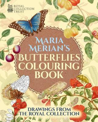 Maria Merian's Butterflies Colouring Book