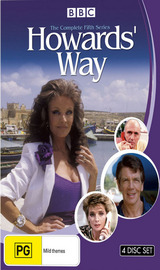 Howards' Way - The Complete Fifth Series (4 Disc Set) on DVD