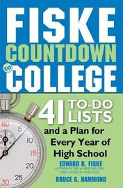 Fiske Countdown to College by Edward Fiske
