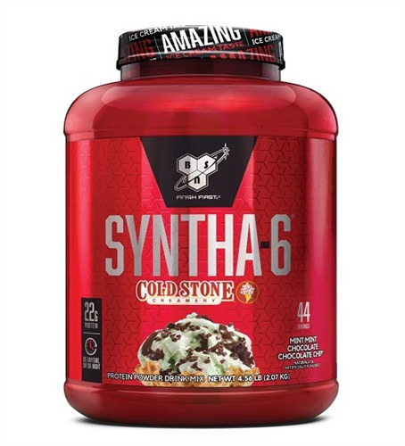 BSN Syntha-6 Protein: Coldstone Mint Chocolate Chip (2.06 kg)