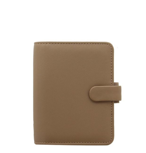 Filofax Saffiano Pocket Organiser - Fawn