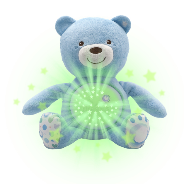 Chicco: Baby Bear Soft Toy - Blue