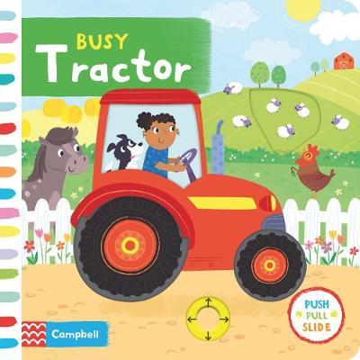 Busy Tractor by Campbell Books