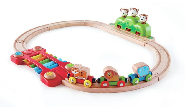 Hape: Music and Monkeys - Jungle Railway Set