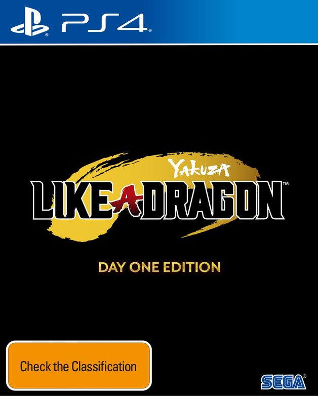 Yakuza: Like a Dragon Day One Edition for PS4