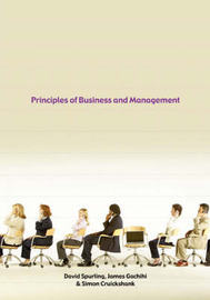 Principles of Business and Management by David, Spurling image