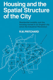 Housing and the Spatial Structure of the City by R.M. Pritchard image
