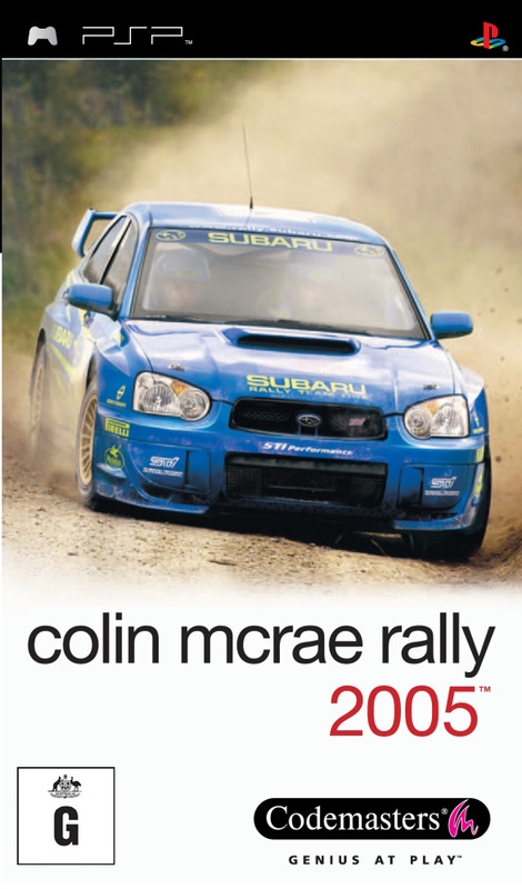 Colin McRae Rally 2005 for PSP