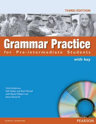 Grammar Practice for Pre-intermediate by Elaine Walker image