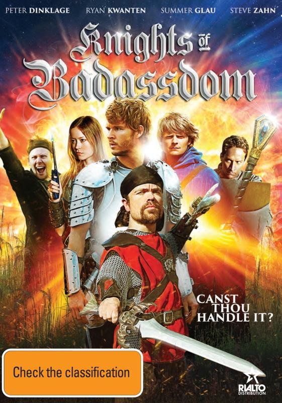 Knights of Badassdom on DVD