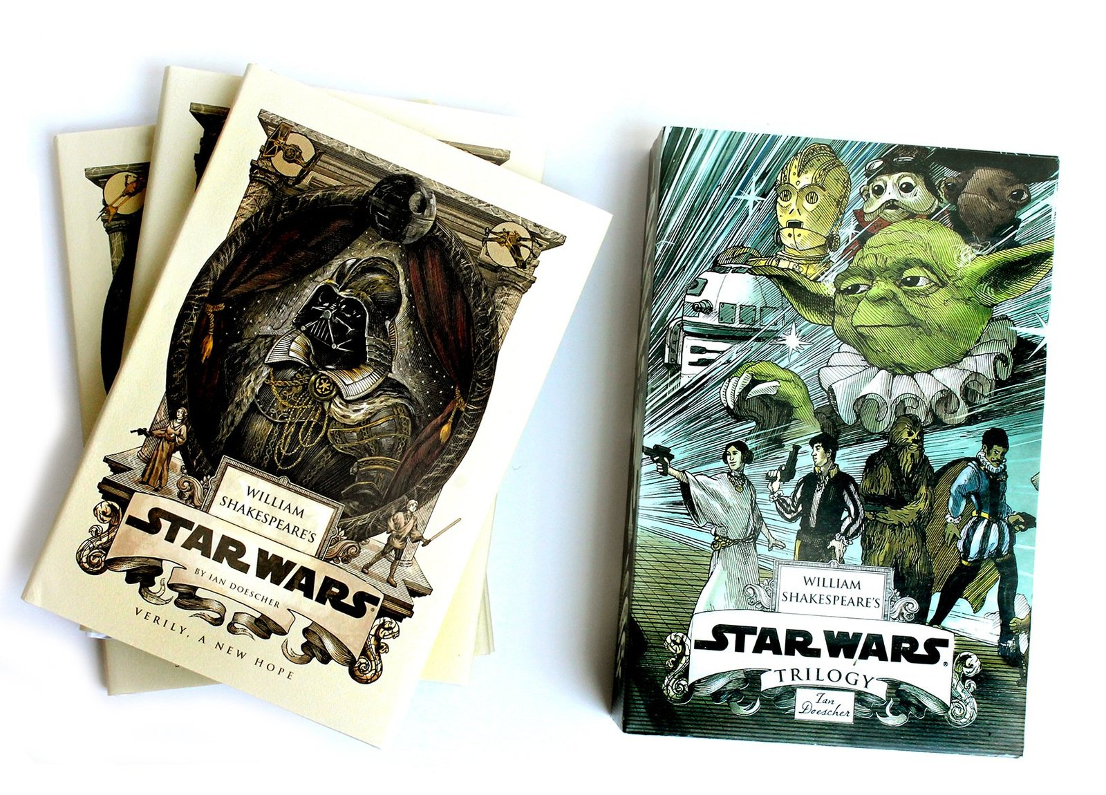 William Shakespeare's Star Wars Trilogy by Ian Doescher image