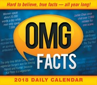 Omg Facts: Hard To Believe, True Facts All Year Long 2018 Box Calendar by Spartz Media