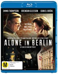 Alone In Berlin on Blu-ray