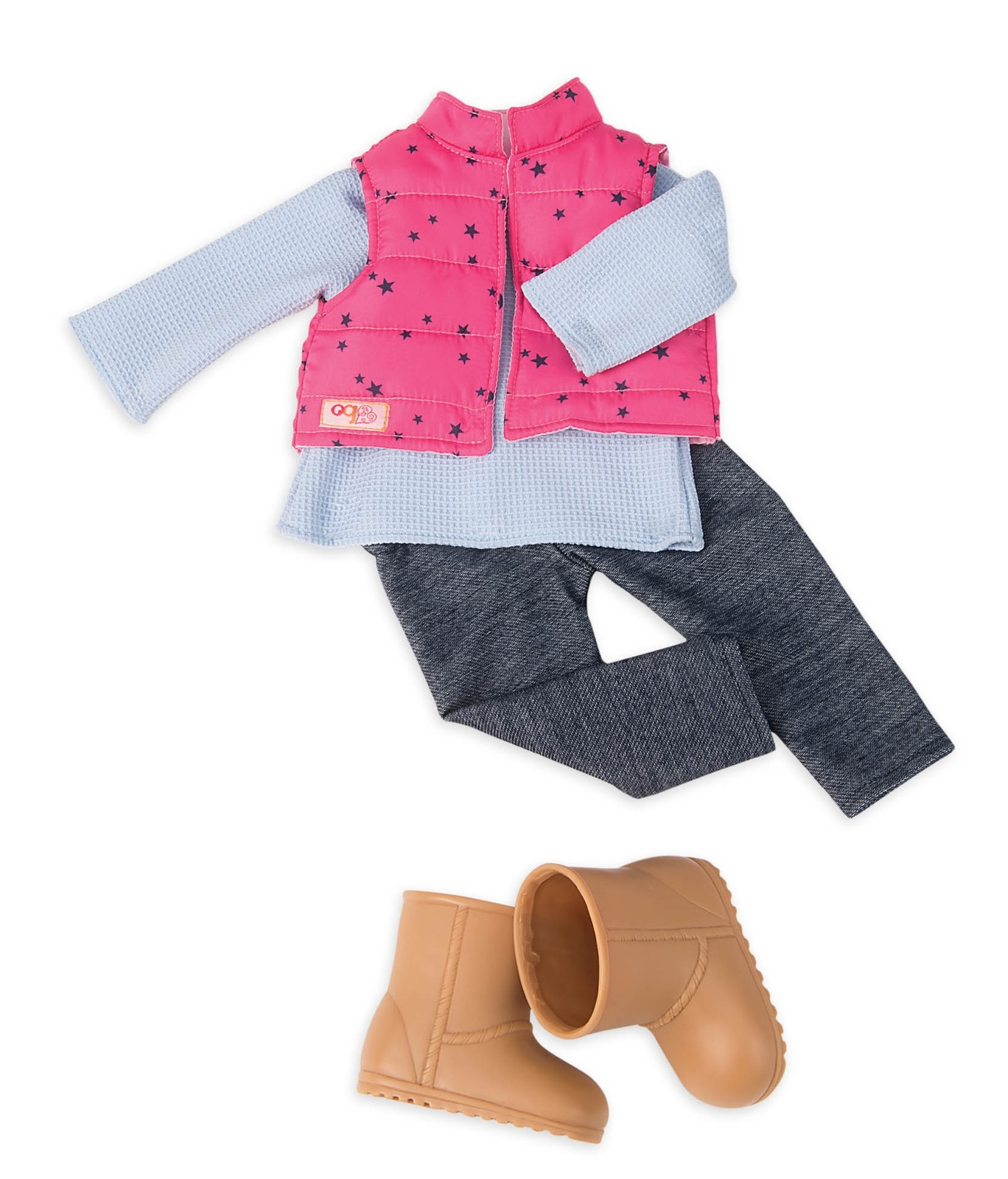 Our Generation: Regular Outfit - Trekking Star Vest with Trousers image