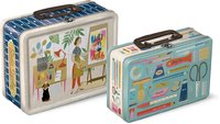 Molly & Rex: Set of 2 Nesting Lunch Box Tins