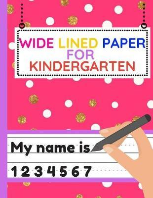 lined paper for kindergarten
