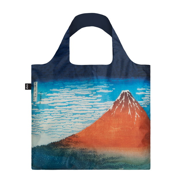 LOQI: Shopping Bag Museum Collection - Red Fuji