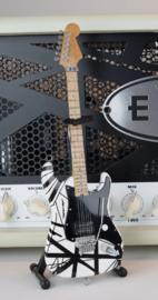 Axe Heaven: Miniature Replica - EVH B&W VH1 (Eddie Van Halen)