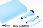 Powerwave DS Lite Value Pack- Blue for Nintendo DS