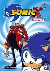 Sonic X - Volume 05 on DVD