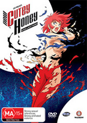 New Cutey Honey - Collection on DVD