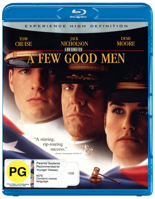 A Few Good Men on Blu-ray