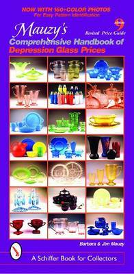 Mauzy's Comprehensive Handbook of Depression Glass Prices by Barbara Mauzy image