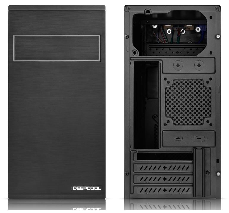Deepcool FRAME Micro ATX Case with Simple Panel Design and Card-reader image