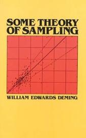 Some Theories of Sampling by W.Edwards Deming