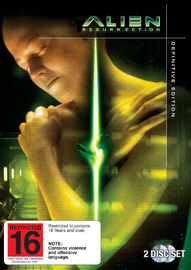 Alien Resurrection - Definitive Edition on DVD