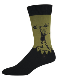 Mens Strongman Crew Socks