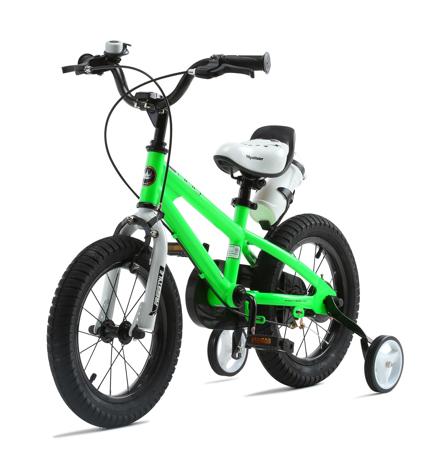 """RoyalBaby: BMX Freestyle - 16"""" Bike (Green) image"""