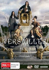 Versailles: Season 3 on DVD