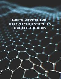 Hexagonal Graph Paper Notebook by Brickshub Publishing