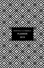 Monthly and Weekly Planner 2019 by Rainbow Notebooks