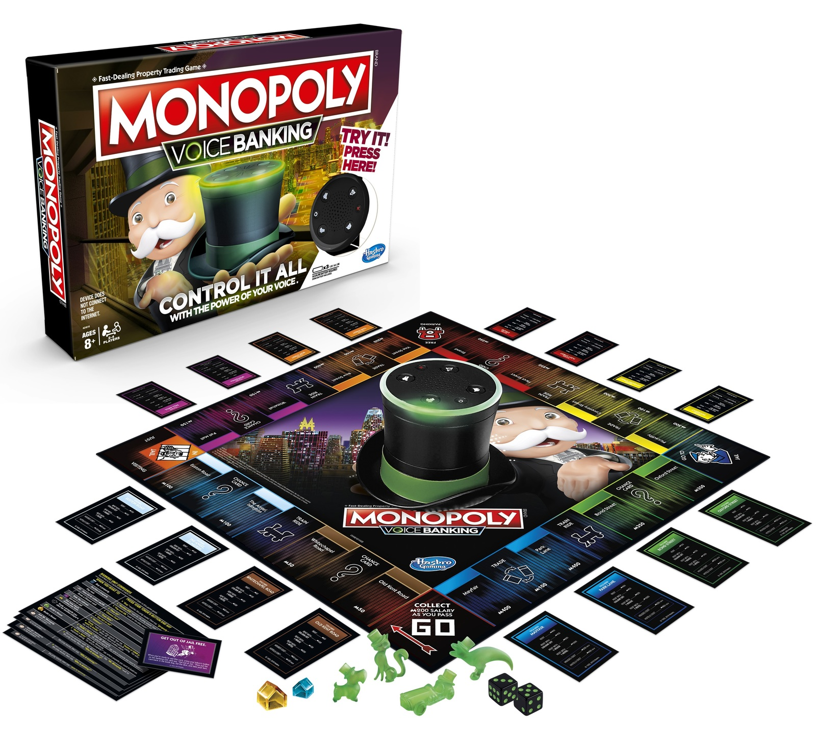 Monopoly: Voice Banking - Electronic Board Game image