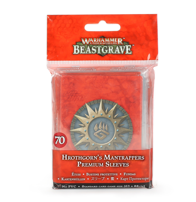 Warhammer Underworlds: Hrothgorn's Mantrappers Card Sleeves