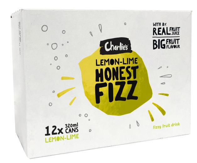 Charlie's Honest Fizz - Lemon Lime (320ml)