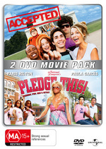 Accepted / Pledge This! - 2 DVD Movie Pack (2 Disc Set) on DVD
