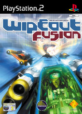 Wipeout Fusion Demo for PS2