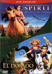 Spirit & Road to El Dorado (2 Disc) on DVD