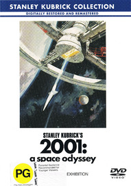 2001: A Space Odyssey on DVD image